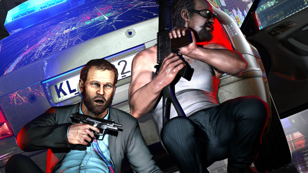 CGゲーム『Kane&Lynch2:Dog Days』