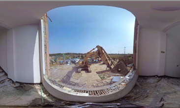 3D VR newsreel Dismantling Illegal Buildings